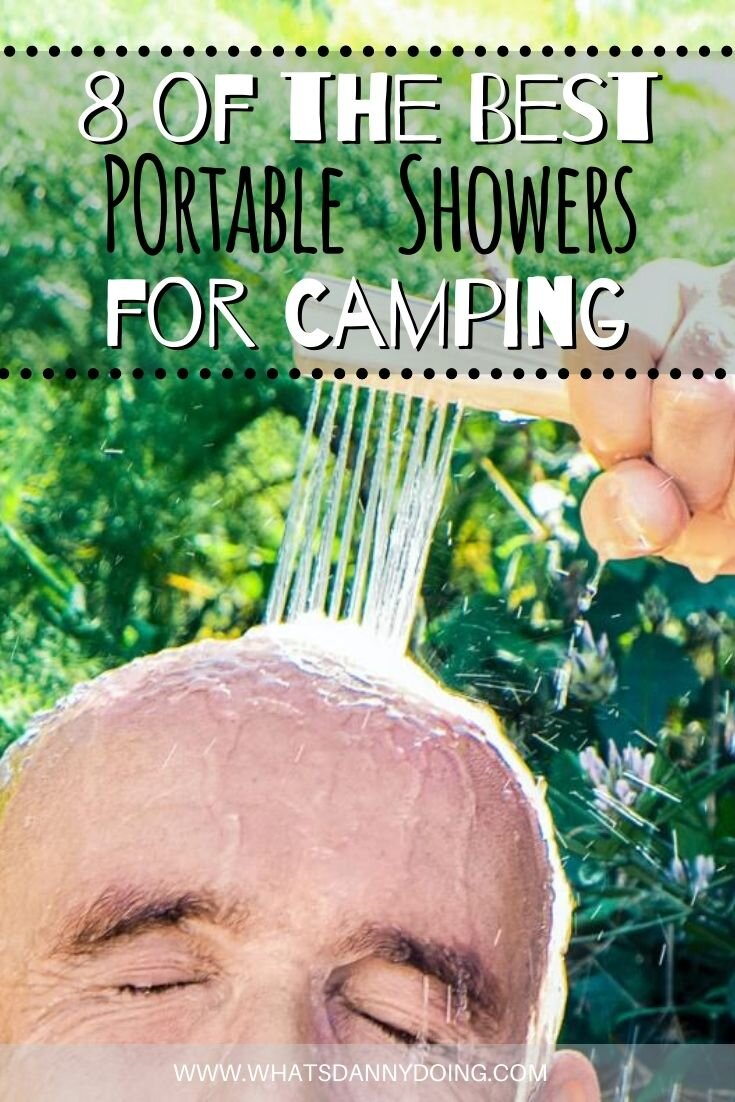 Like this post full of outdoor showers for campers? Pin it!