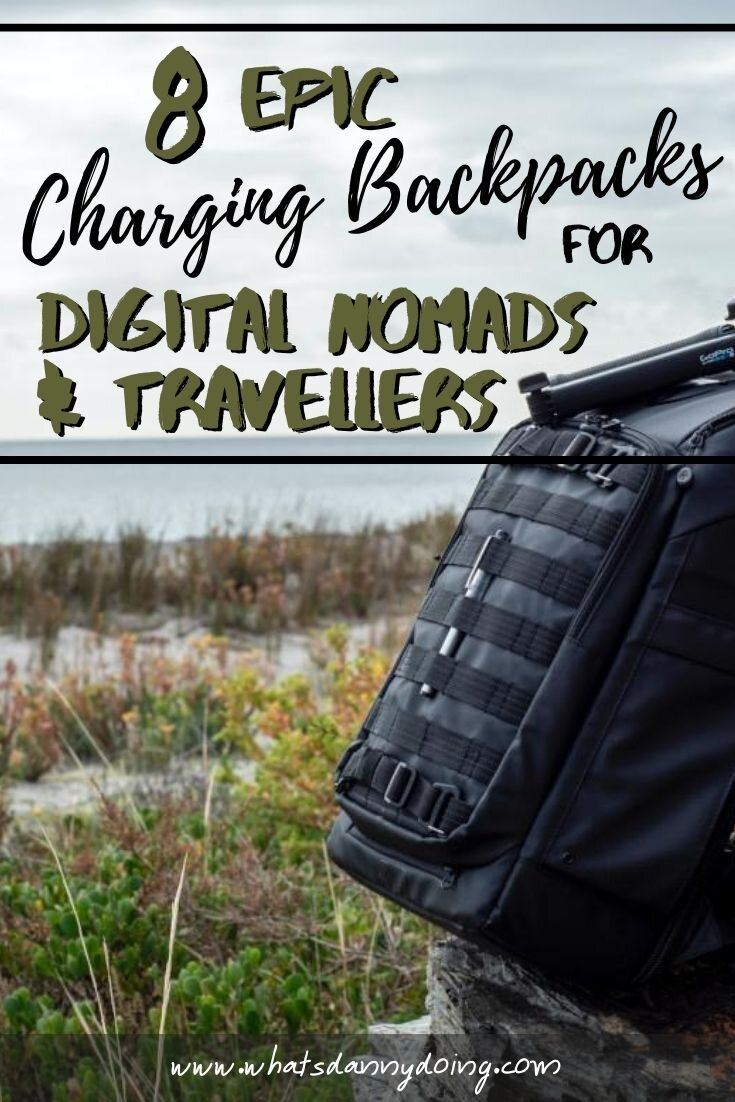 Like this post about the best backpack with charger port? Pin it!