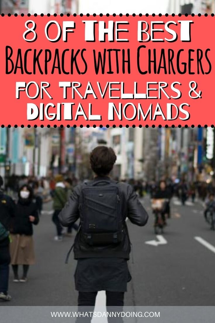 Like this post about the best backpacks with chargers? Pin it!