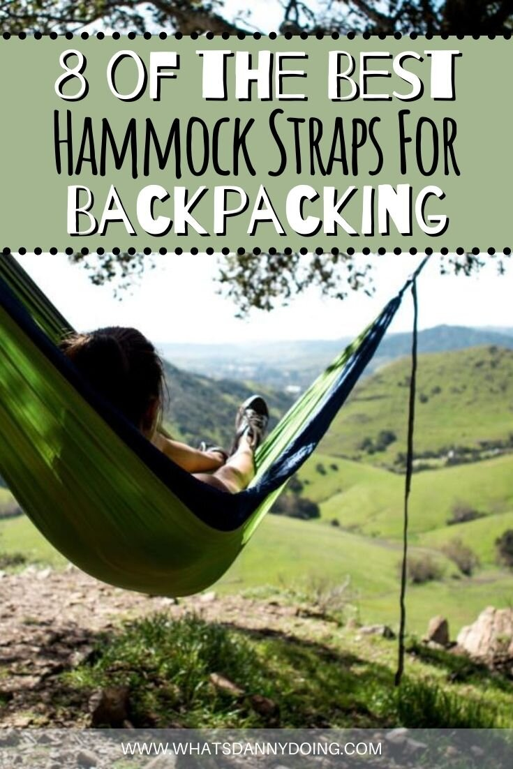 Like this post about the best hammock suspension straps? Pin it!