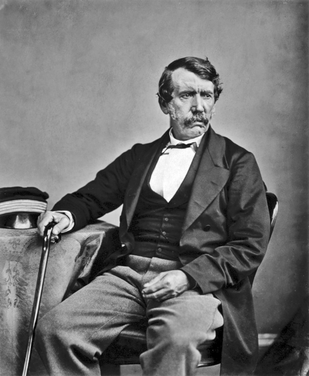 No list of great explorers is complete without David Livingstone!