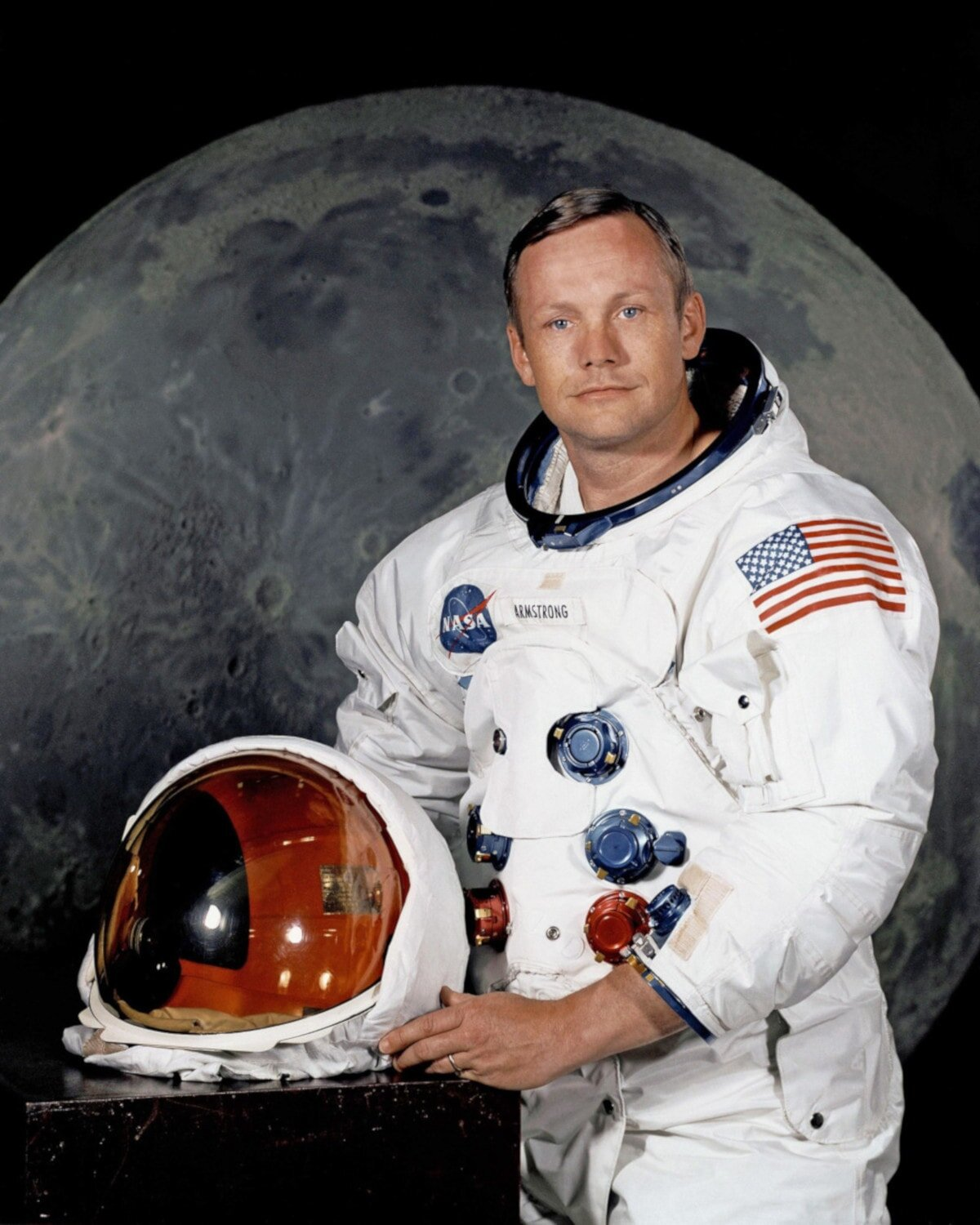 Neil Armstrong's likely to be another familiar name on this famous explorers list.