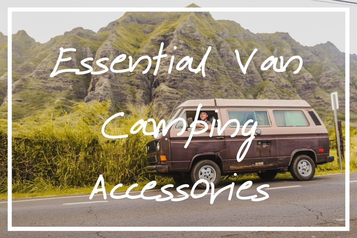 I hope this list of van camping accessories helps you find the perfect camper van supplies for your trip!