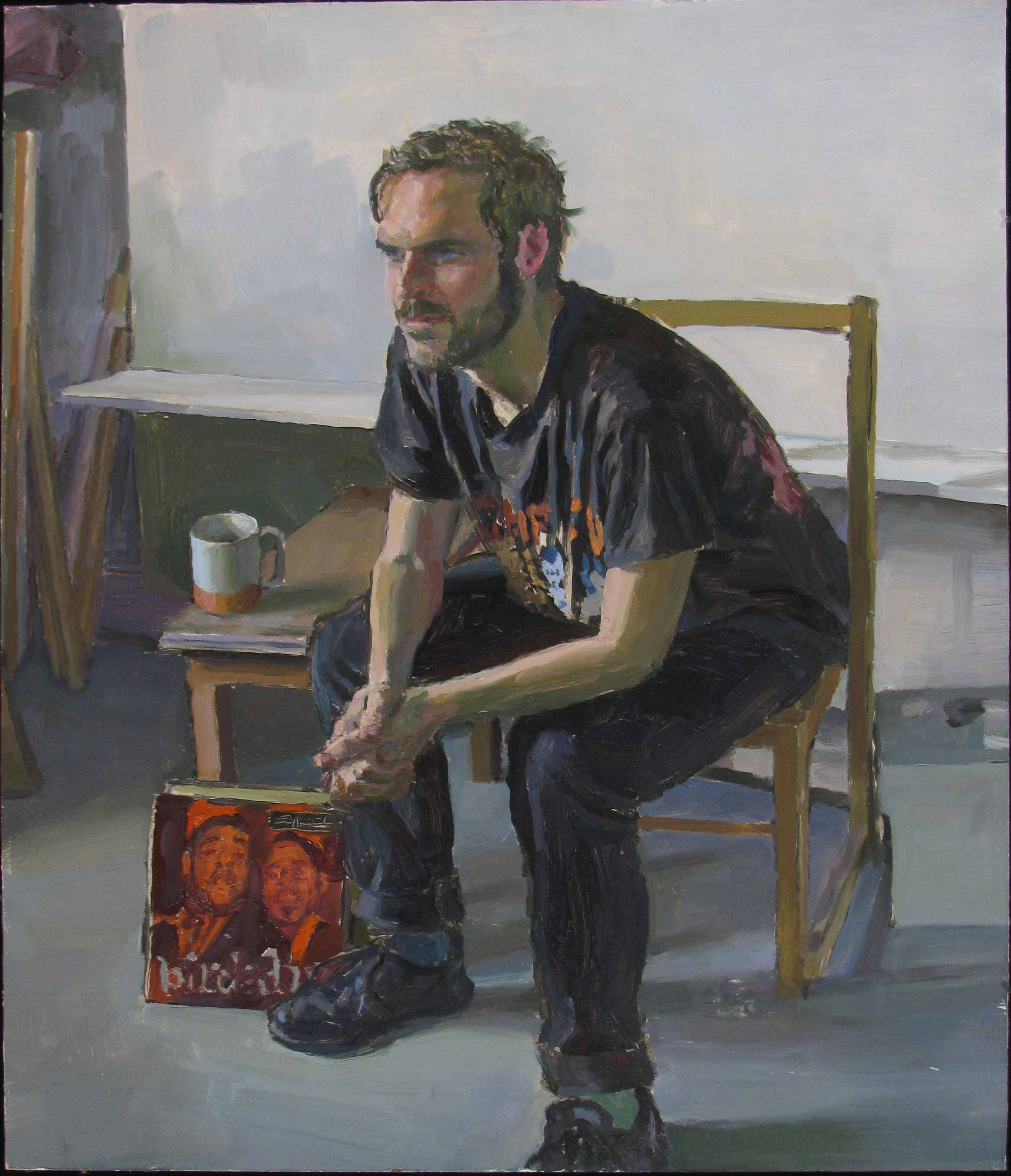 "WILLIAM BEVAN oil on panel 14 x 12"" 2011"