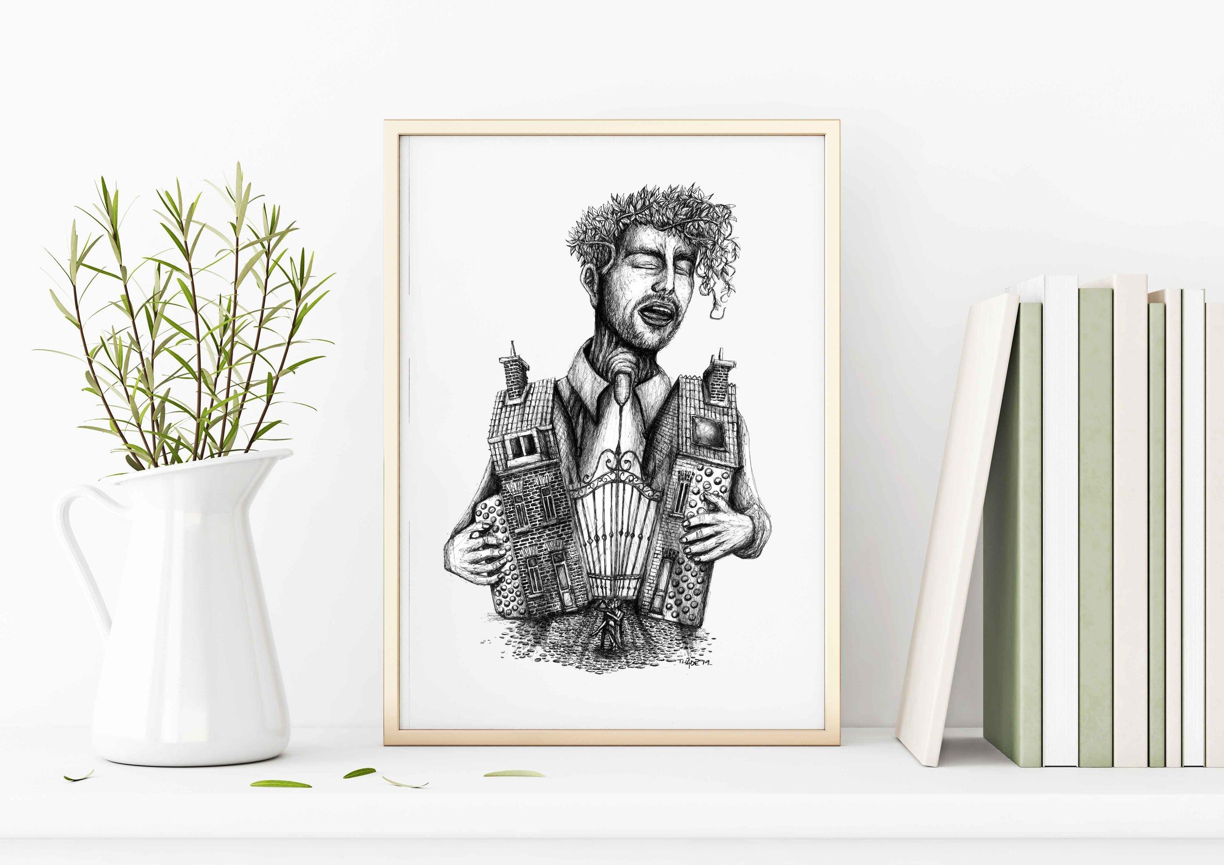 L'accordéoniste ~ Thadé