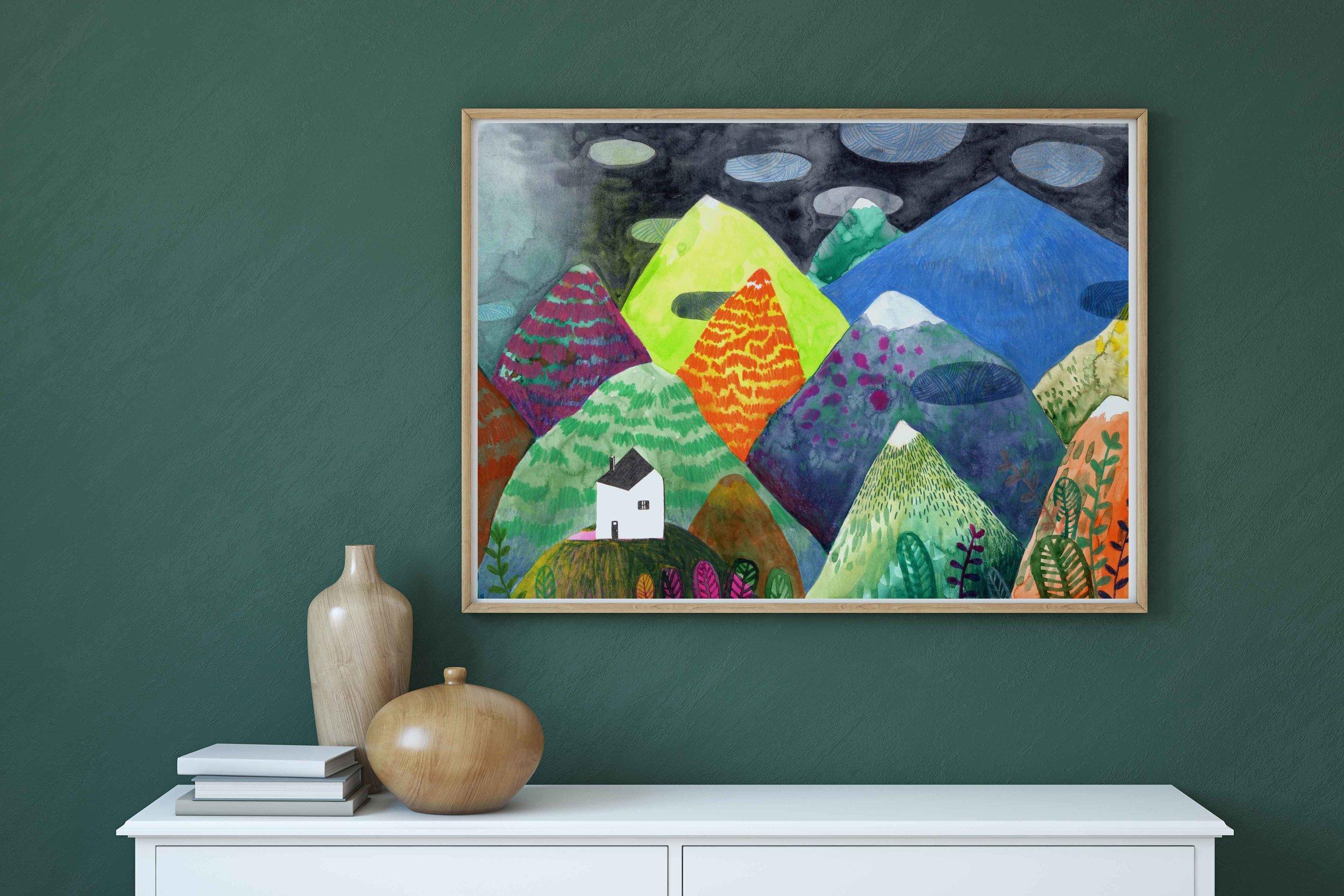 La montagne bleue ~ Magali Dulain