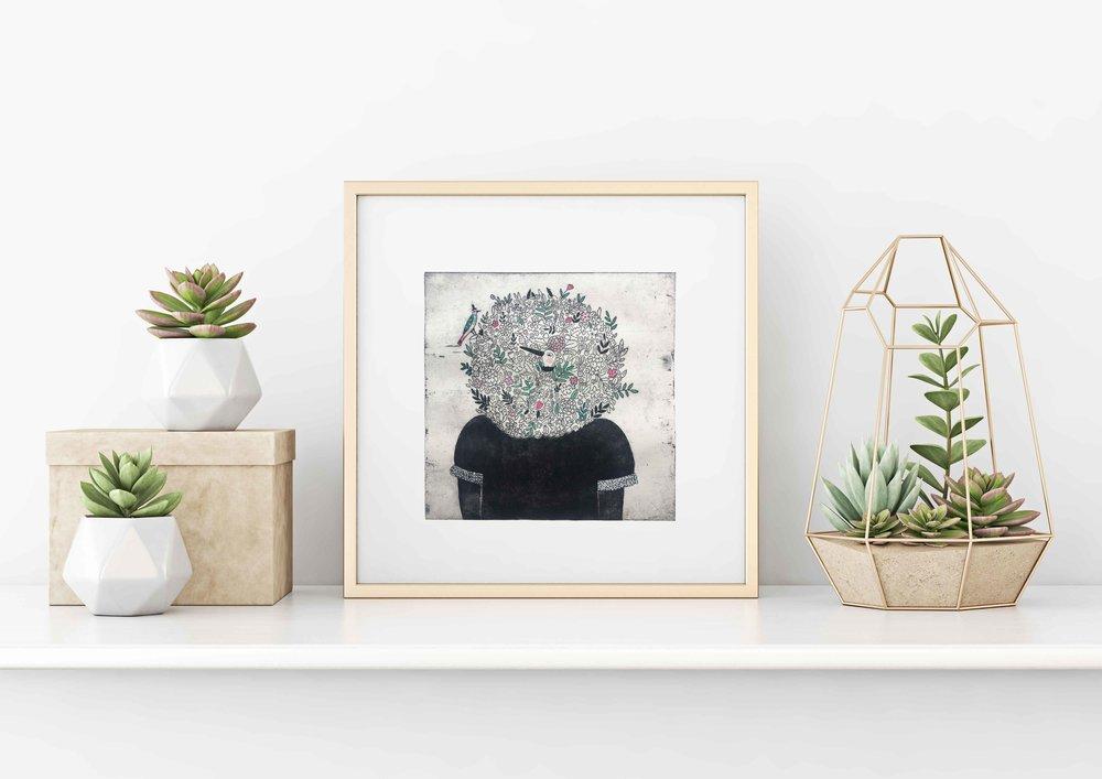 Un coin fleuri ~ Julie Daleyden