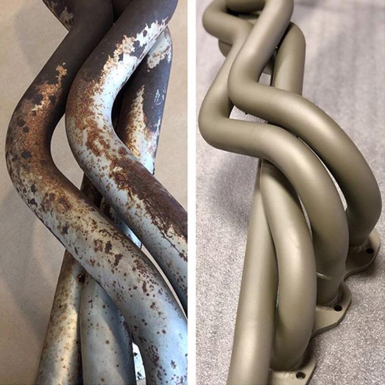BMW exhaust manifold