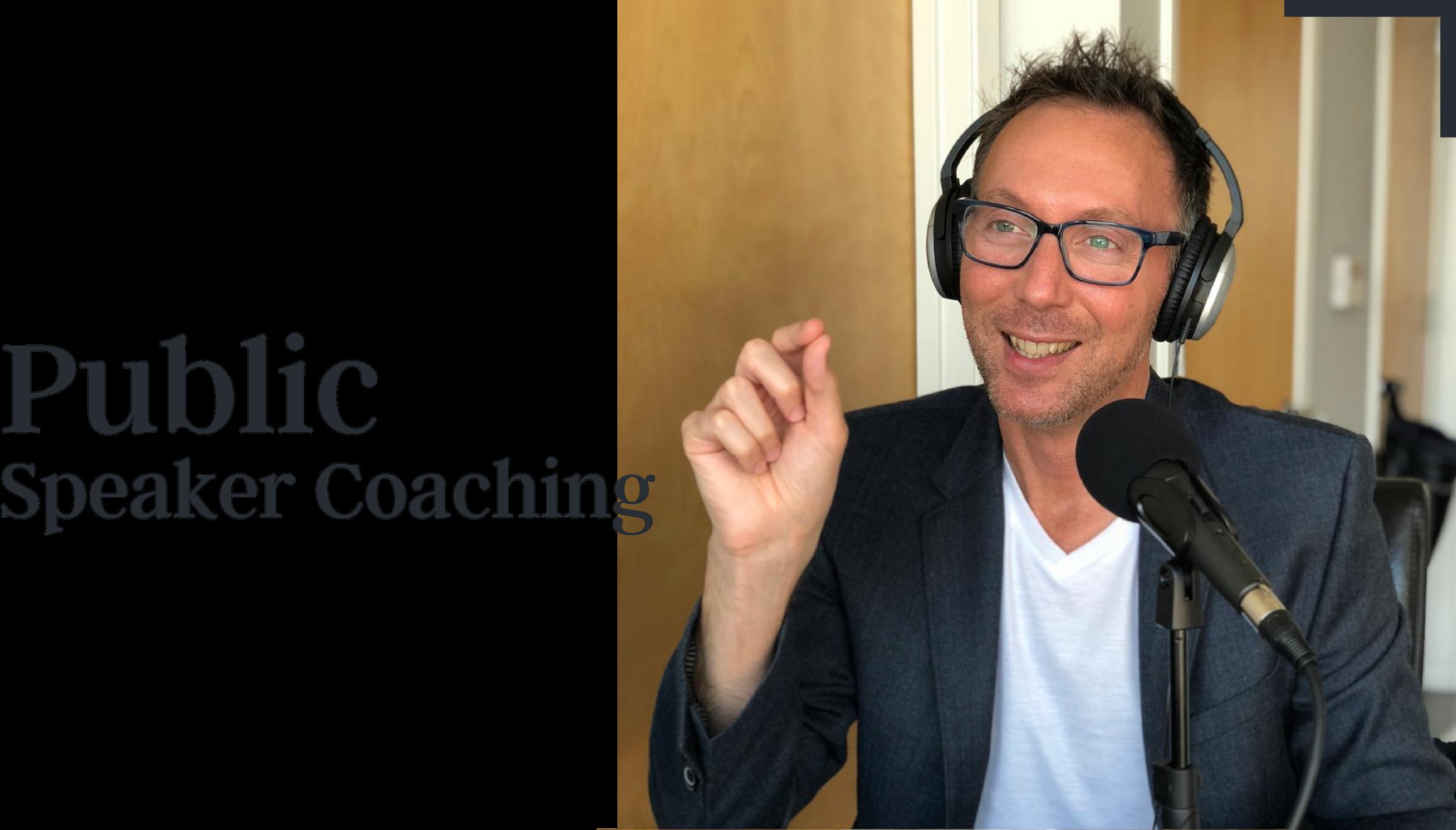 Public Speaker Coaching