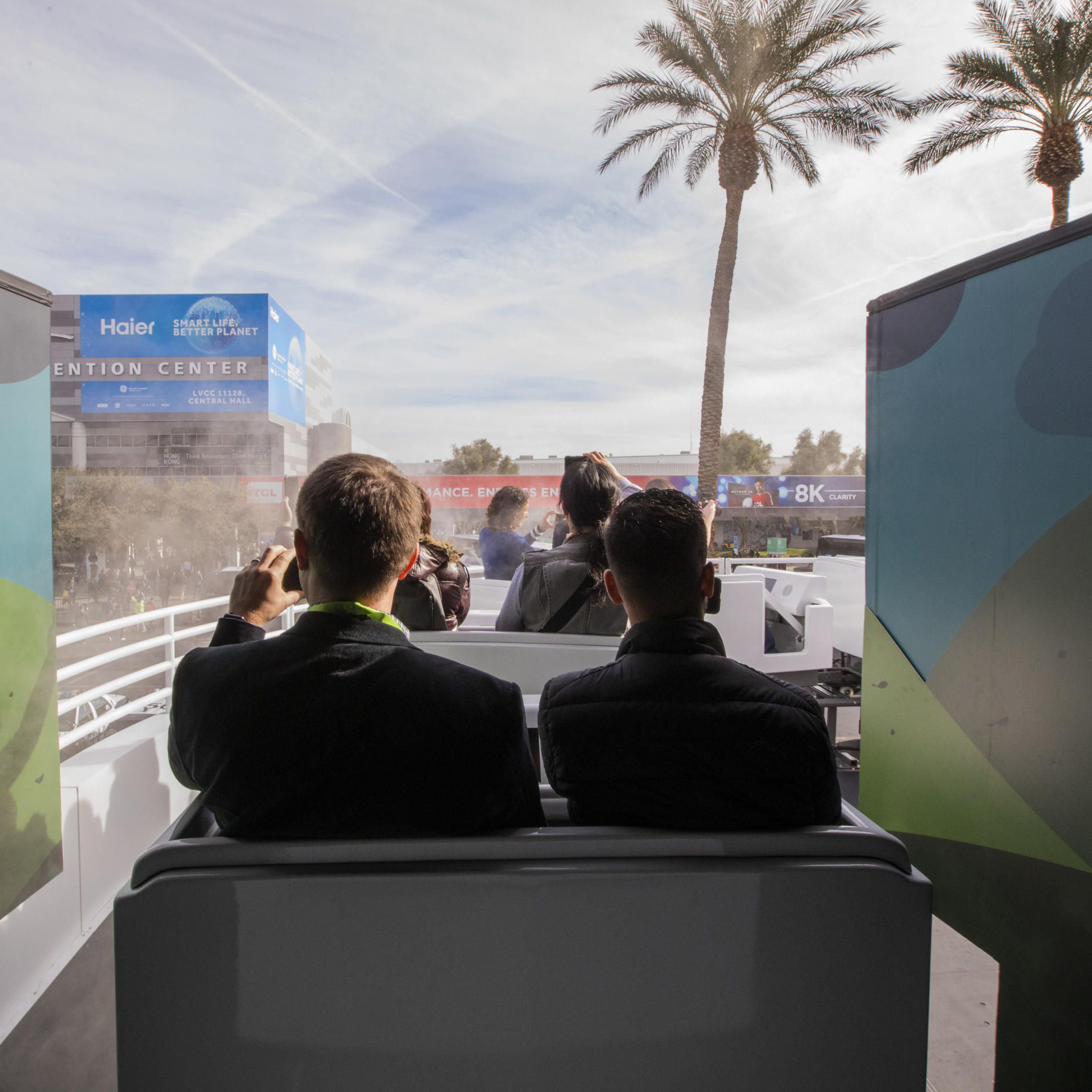 GOOGLE ATCES 2019 - The Ride of your life (literally) and more with the Google Assistant at CES 2019.