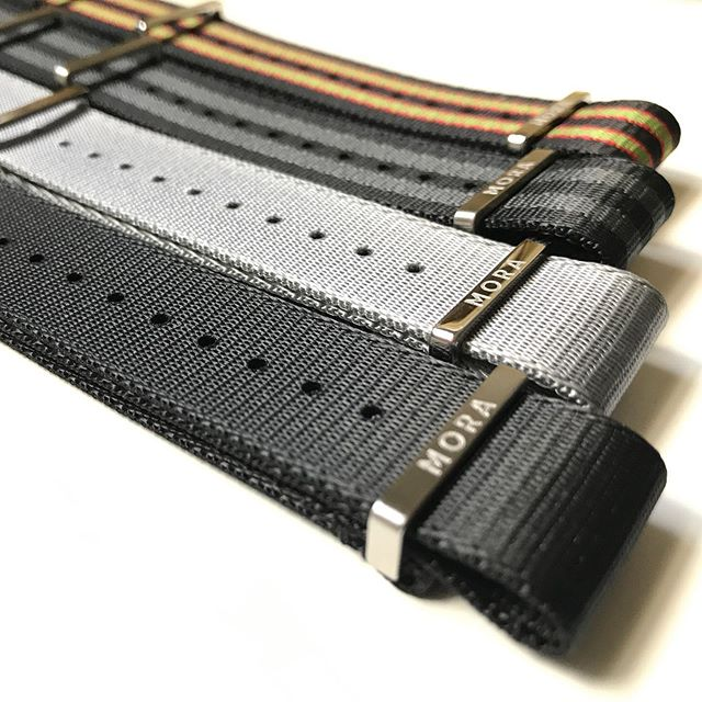 Really looking forward to trying these @morawatchstraps! Just released in 2019 and I'm very impressed.  Excellent design and materials Ben!
