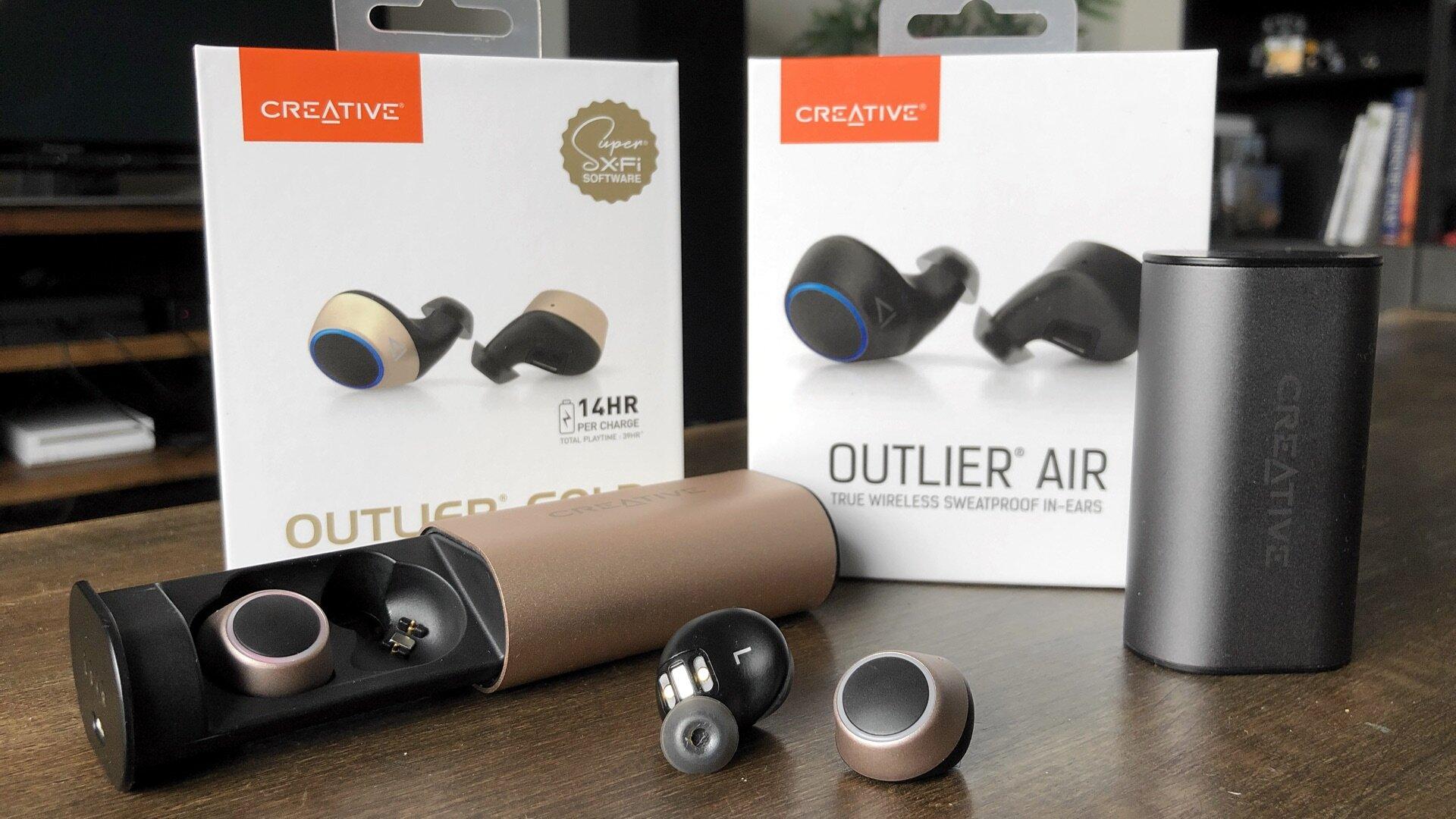 Creative Outlier Air Gold review comparison versus.jpg