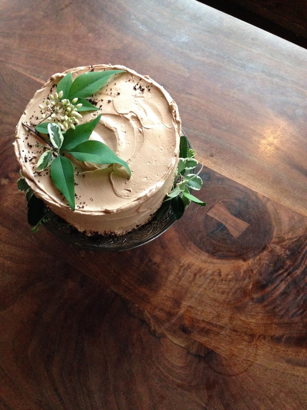 matt's chocolate chicory cake.JPG