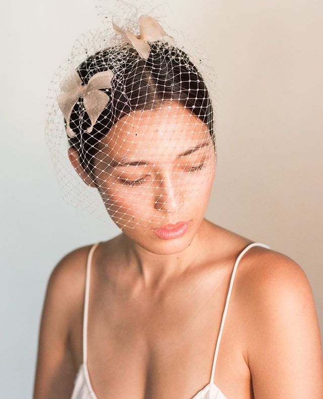 """Cage veils add such a gorgeous, vintage touch to any ensemble. ⠀ ⠀ The """"Butterfly"""" cage veil by @tiamazzabridal is the perfect combination of classic with a hint of modern. To see more pieces from the collection, stop by the boutique and we'll be more than happy to show you, no appointment necessary!⠀ ⠀ ⠀ ⠀ ⠀ #rochesterbride #syracusebride #bridalboutique #nybride #torontobride #canadianbride #bridalaccessories #cageveil #coutureweddinggown #sneakpeek #gettingmarried #futuremrs #isaidyes #weddingforward #shesaidyes #engaged #proposal #weddingplanning #bridetobe #ido #marryme #bride2be #engagedlife #heputaringonit #instawed #justengaged #weddinginspo #howheasked #weddingideas #bridalstyle"""