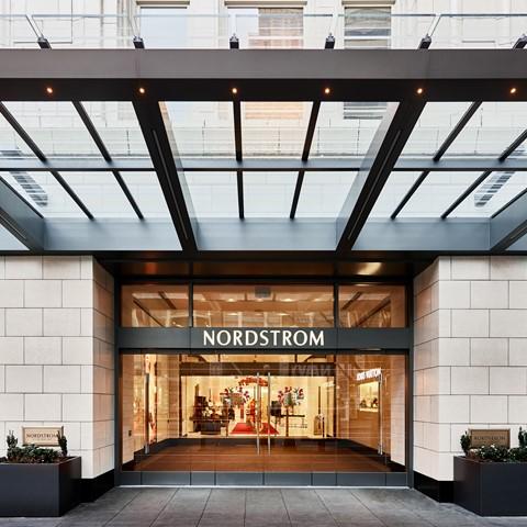 Nordstrom Flagship, Seattle Washington. Image courtesy Nordstrom, Inc.