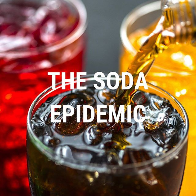 Recent research by the International Agency for Research on Cancer ( @who ) found that individuals who consume both sugary and artificially sweetened sodas regularly have a higher risk of early death!  Read more about the study, and what's actually in soda that makes it so detrimental to our health. Link in bio 🥤