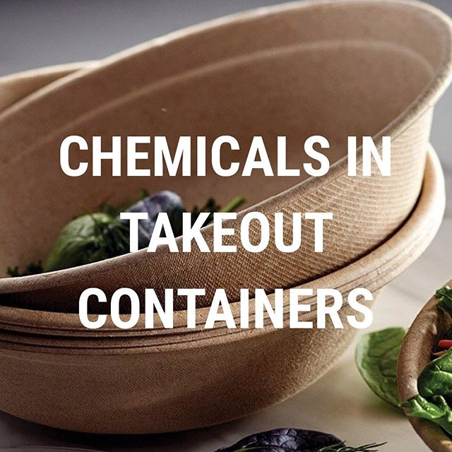 "You might want to think twice before answering the monotonous question on your lunch break, ""For here or to-go?"" 🗣  The disposable bowls at fast-casual eateries contain harmful 'forever chemicals' that never biodegrade, polluting our environment and crippling our health. Link in bio for the scoop!"