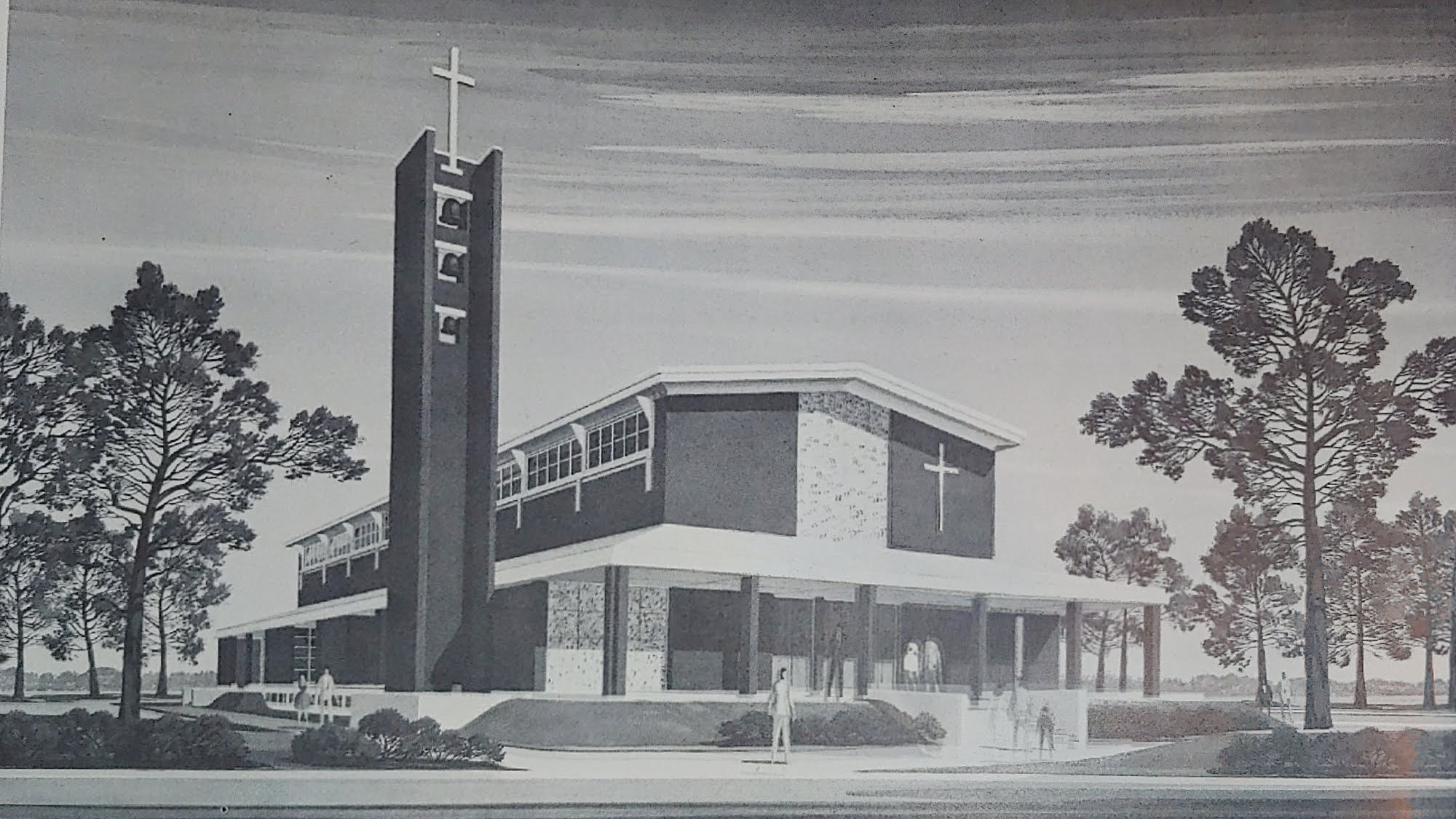 Architect's Render of New St. Bridget Church