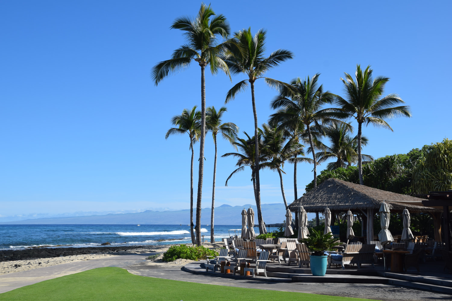 The Beach House restaurant at the Four Seasons Resort Hualalai