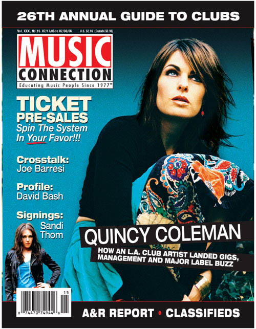 Music Connection Cover