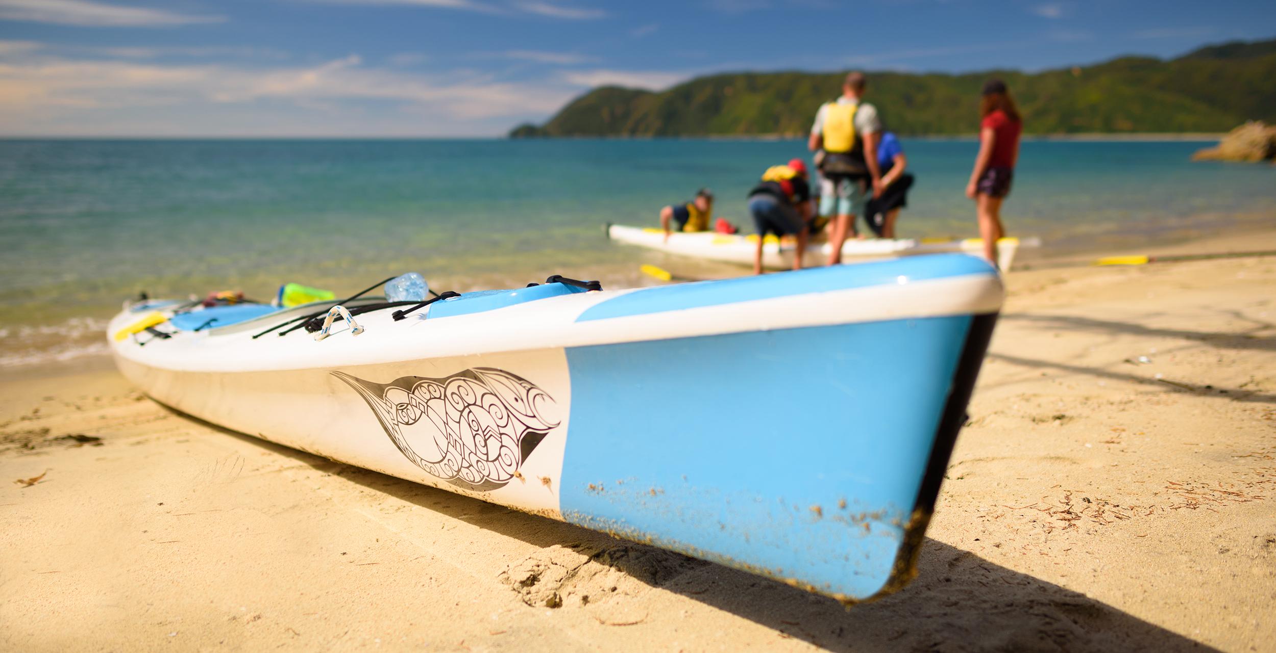 GBK Blue Kayak on beach Opti.jpg