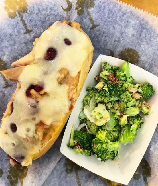 Thanksgiving Sandwich / Broccoli Salad