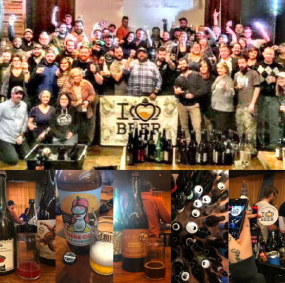 Heist Brewery       Cheers Charlotte      200th Episode Bottle Share