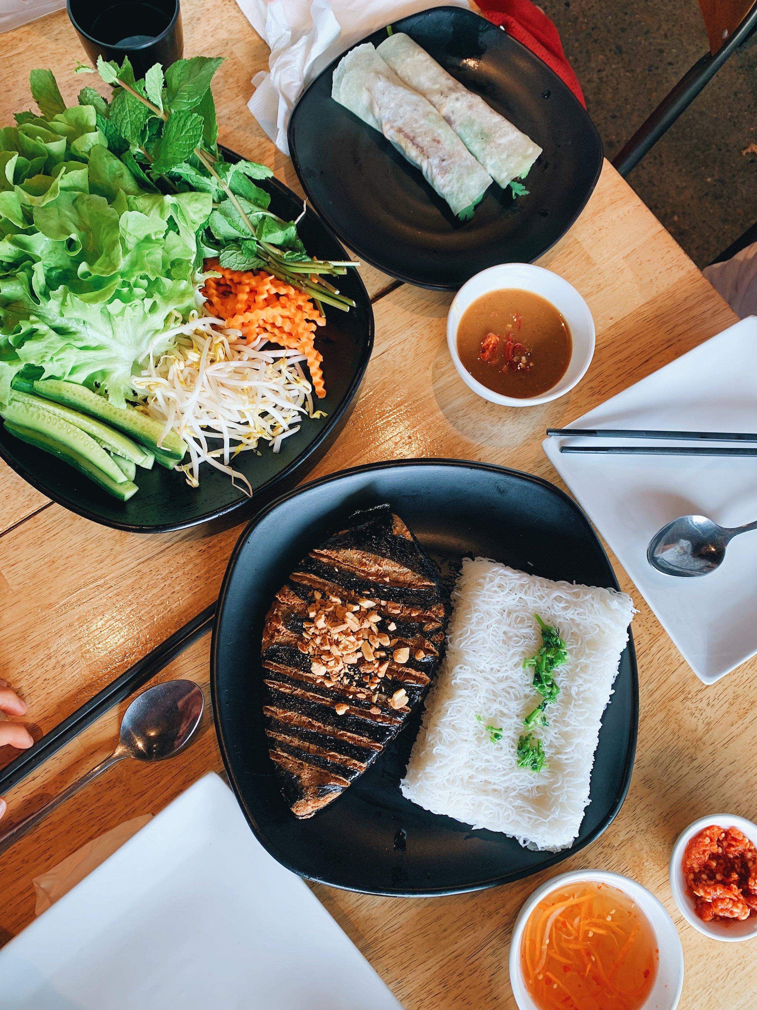 an nhien Vegetarian cuisine - $