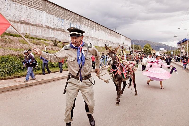 El desfile de San Sebastián, San Sebastián