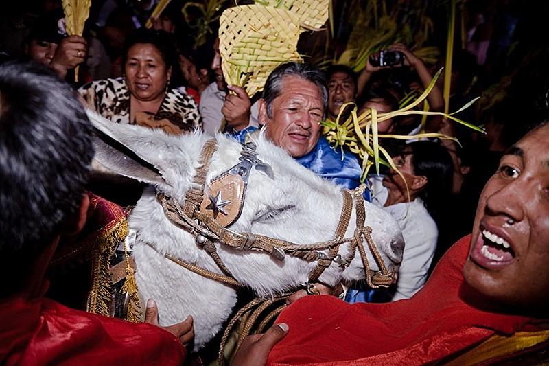 Caos el Domingo de Ramos, Ayacucho 2009