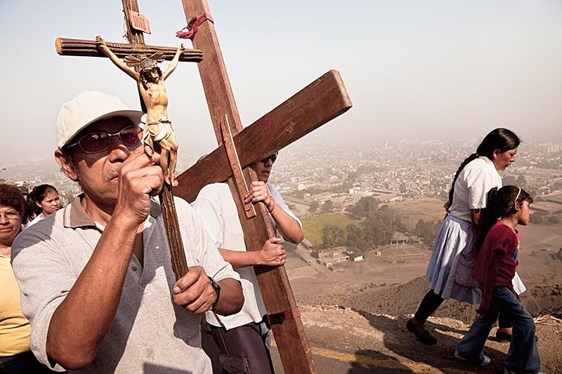 Vía Crucis, Cerro San Cristobal 2009