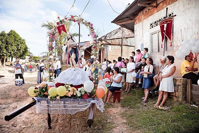 La procesión de San Juan Bautista, San Juan 2009