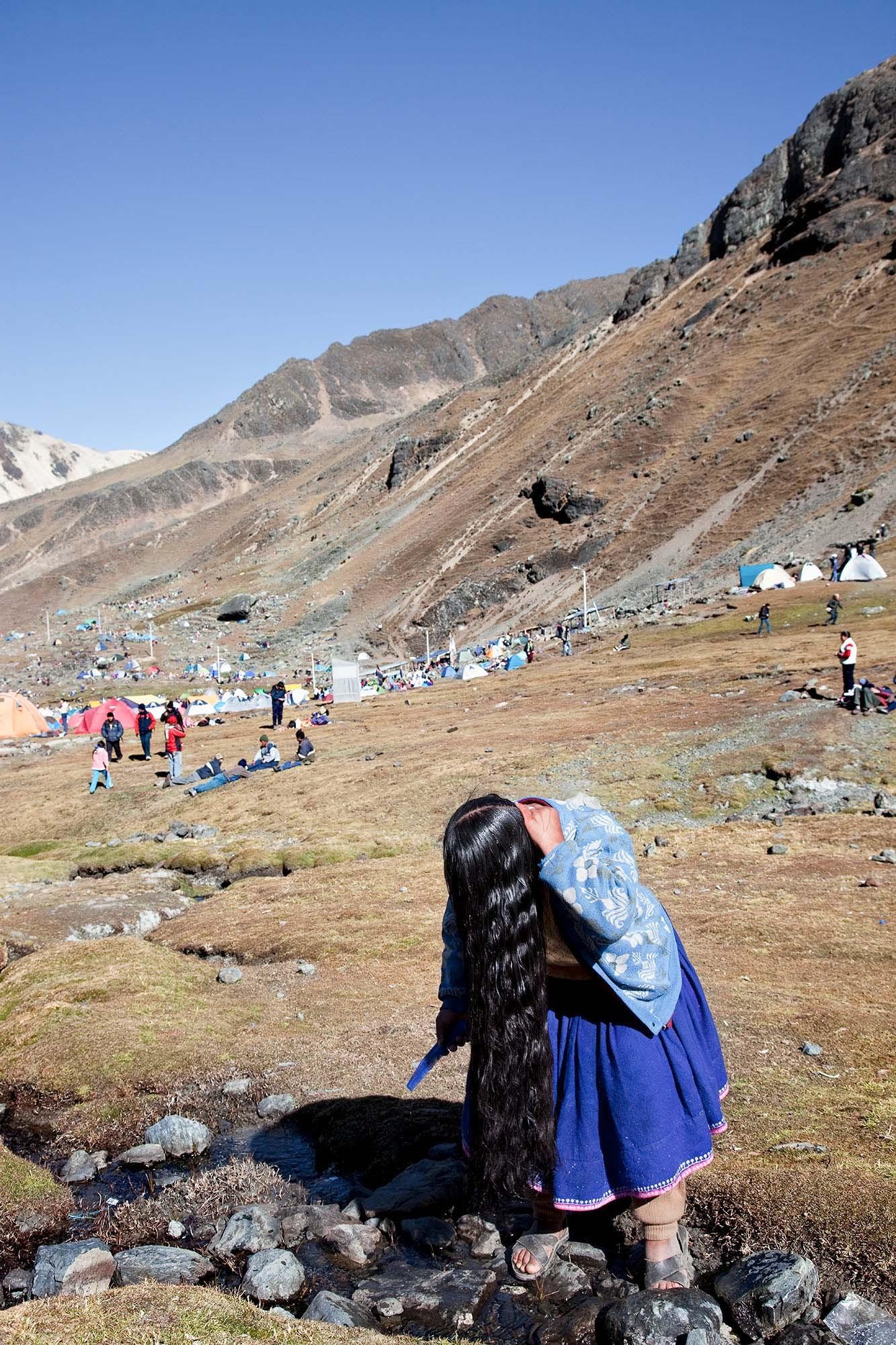 Purificación para el Señor de Qoyllorritty, Cusco 2009