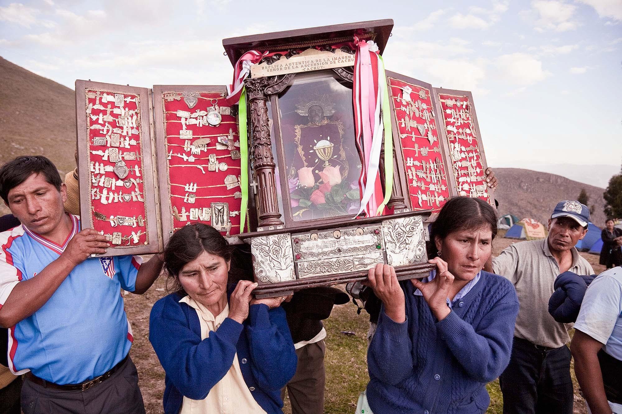 El Señor de la Ascensión de Cachuy, Cachuy 2009