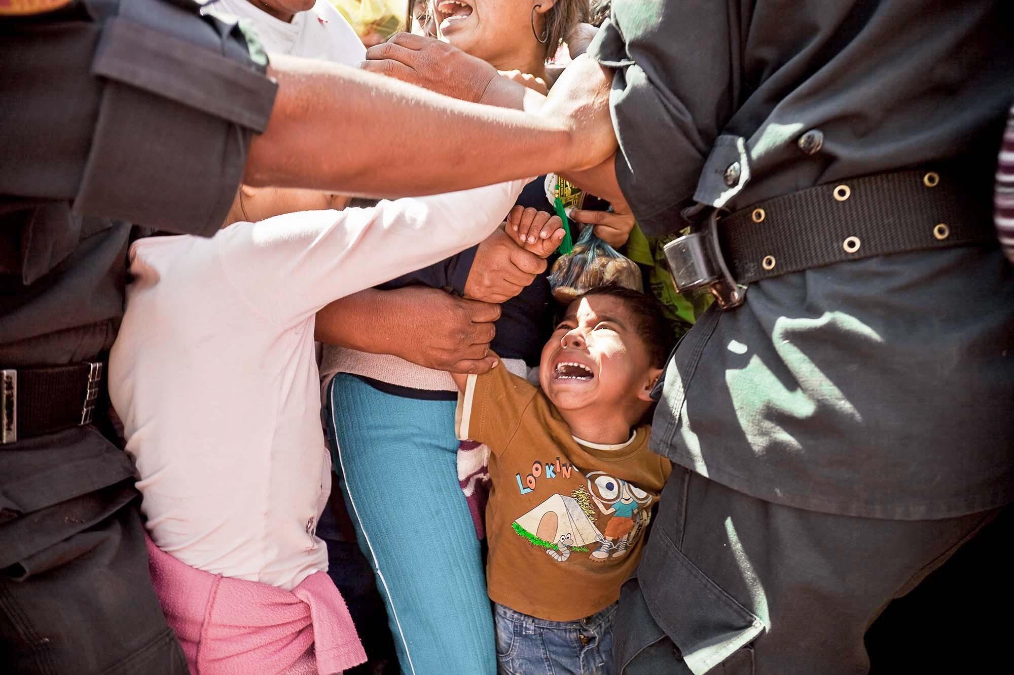 Atrapado en la procesión de la Virgen de Chapi, Arequipa 2009