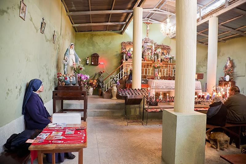 La capilla del Señor de la Ascensión de Cachuy, Yauyos 2009