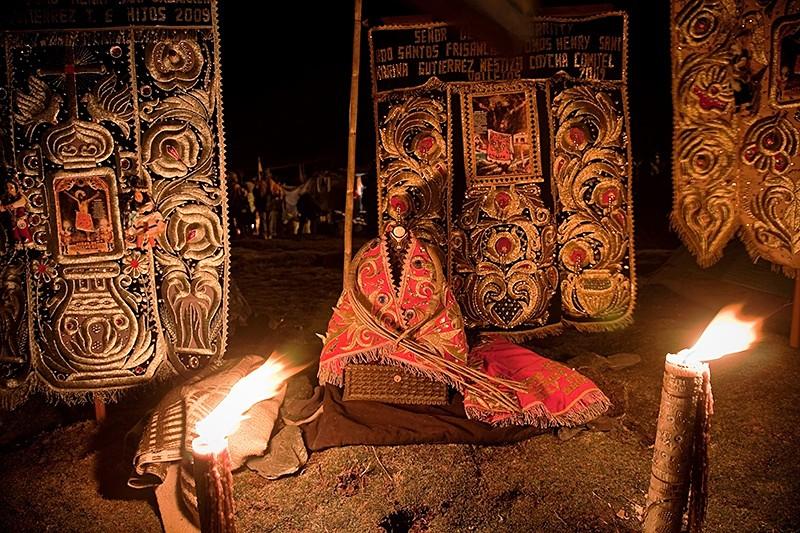 Los cirios del Señor de Qoyllorrity, Cusco 2009