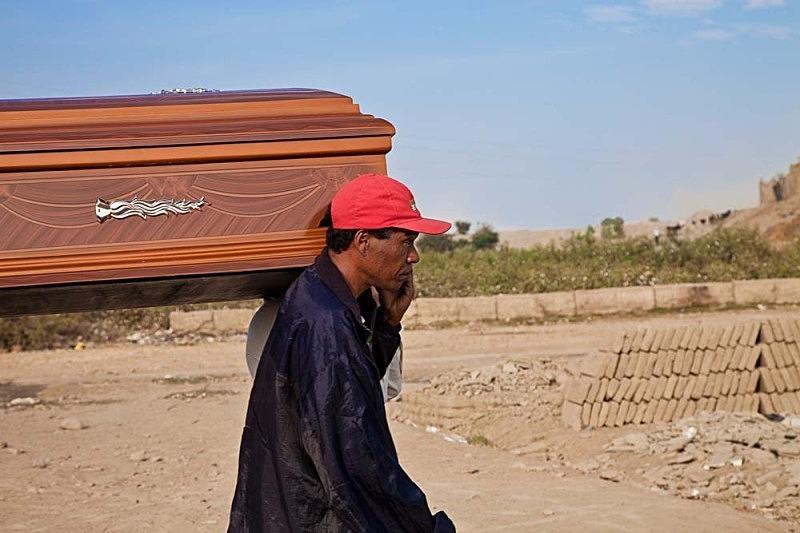 Hacia el cementerio, El Carmen 2011
