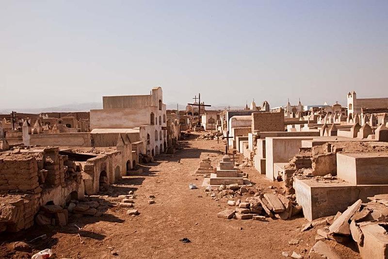 El viejo cementerio, El Carmen 2011