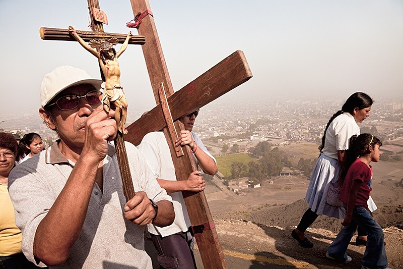 Way of the Cross, Cerro San Cristobal 2009
