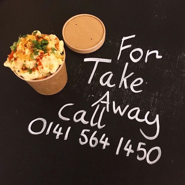 We can do take away for all your park sesh needs, you can even phone in your order for collection! #vegandiner #macandcheese #glasgow #kelvingrove #takeaway #vegan #parklife #summer #glasvegan #veganglasgow
