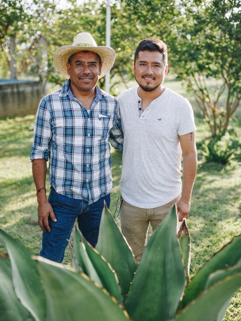 Francisco and his son, Luís - EJUTLA, OAXACA