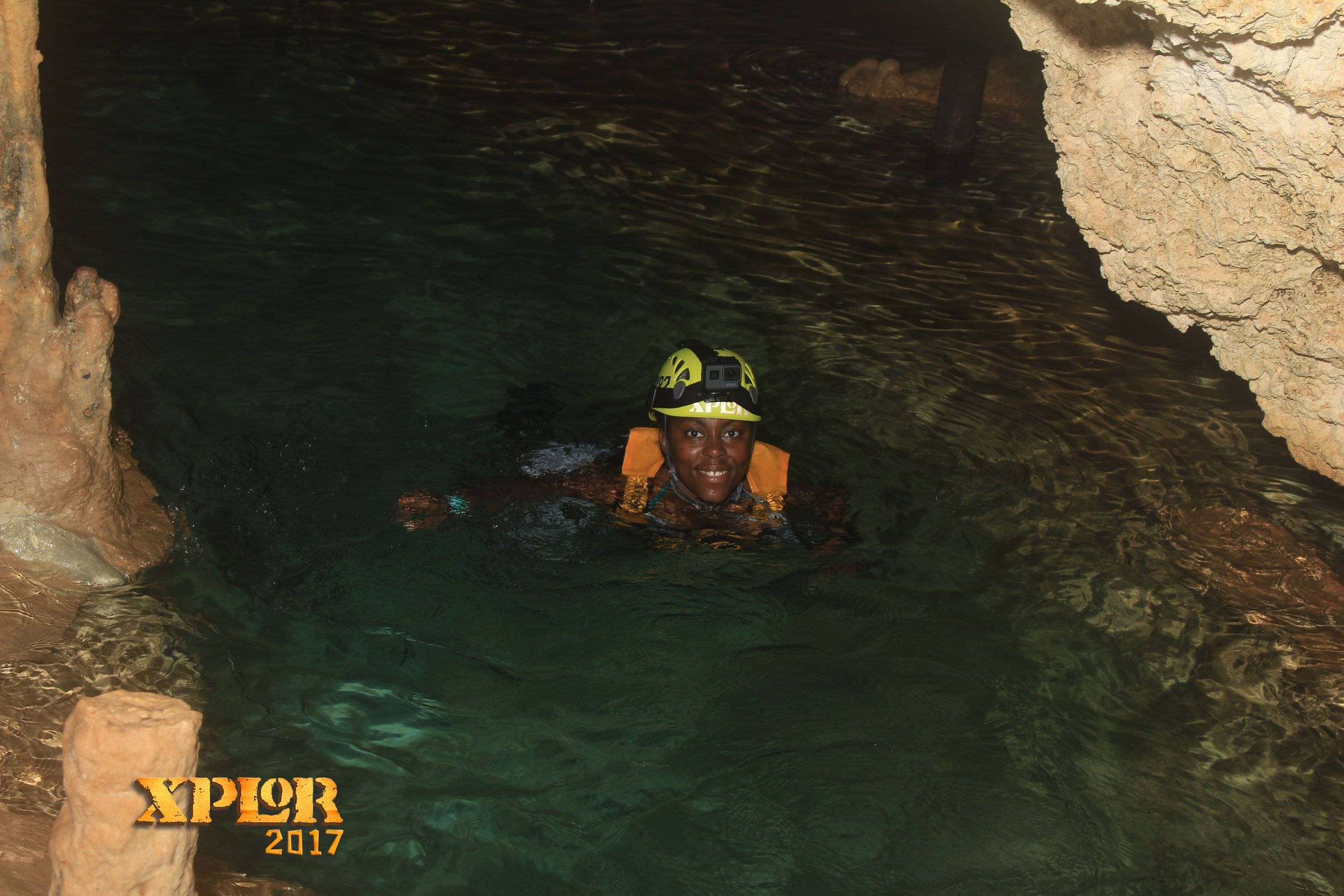 Cave Swimming at Xplor Park in Riviera Maya