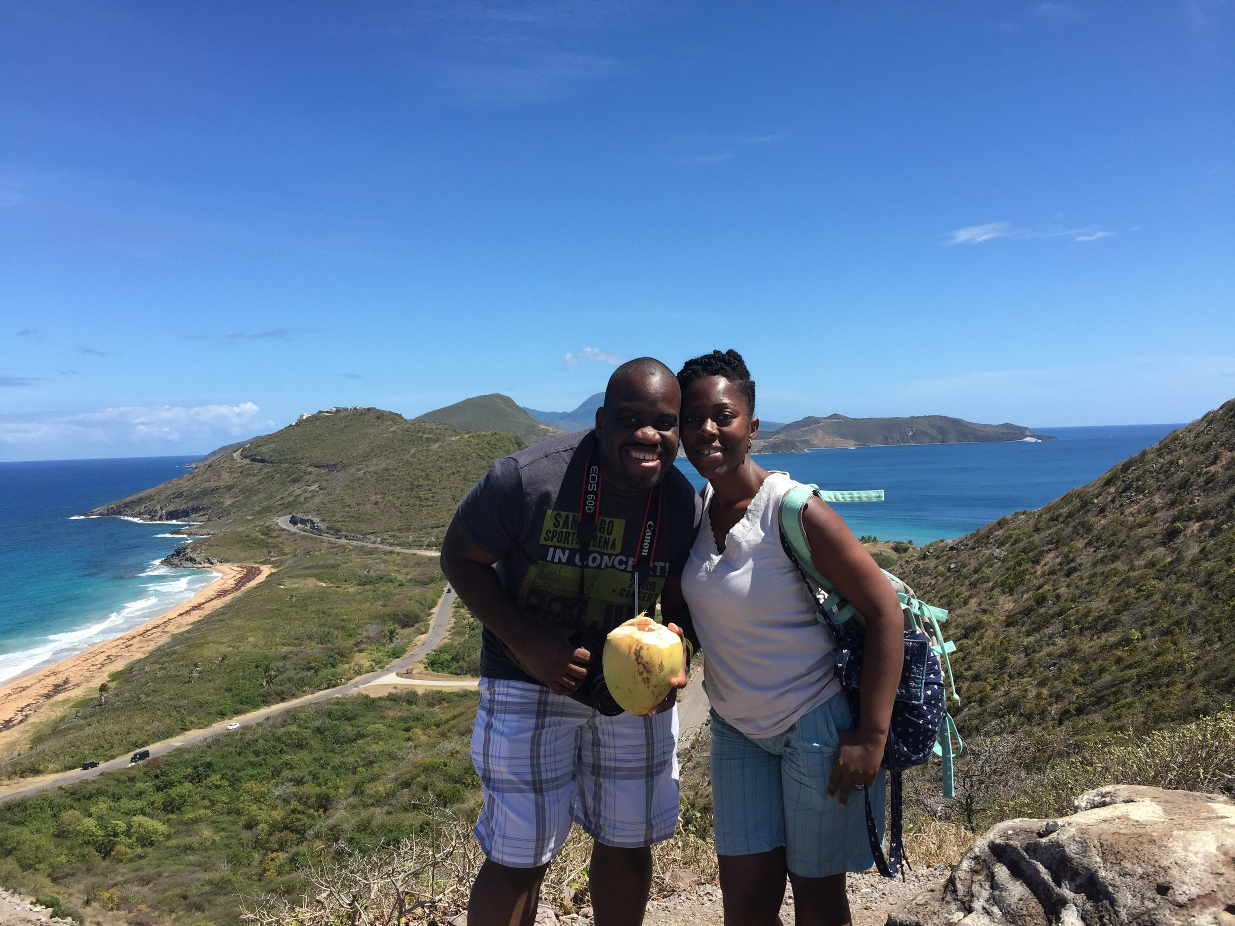 The Atlantic meets the Caribbean in St Kitts