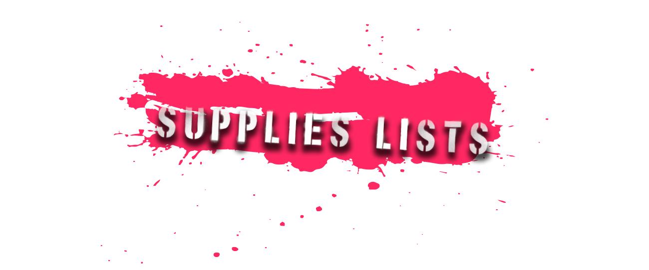 Supplies Lists.jpg