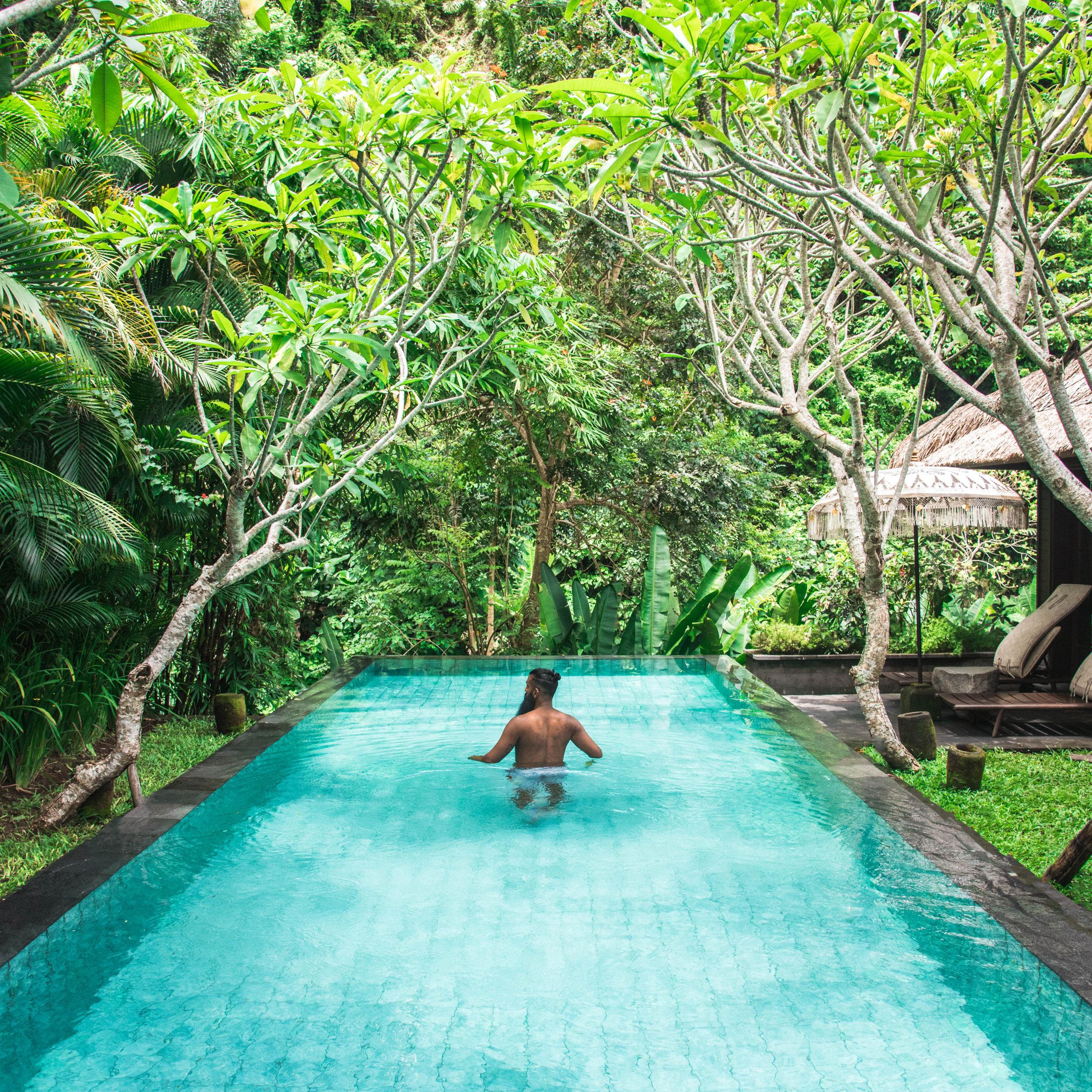 Ritz- Carlton Mandapa- Bali, Indonesia.