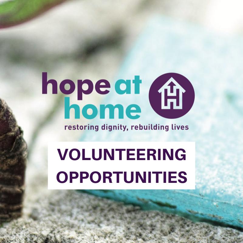 Hope at Home Volunteer