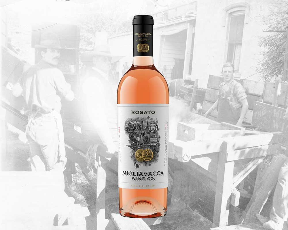 2018 ROSATO - San Francisco Bay - 13.4% ABVSoft pink hue belies hidden depth... a true Pacific Rosé, delicate enough for the picnic blanket, complex enough for the table cloth. Bottled sunshine!Vineyard & Harvest: blend of Barbera & Petite Sirah from sunny spots around the SF Bay, ripened to 23 brix for greater phenolic complexityFermentation & Ageing: Direct press, low-and-slow fermentation to preserve floral aromas and bright acidity, 5 months in neutral French oak