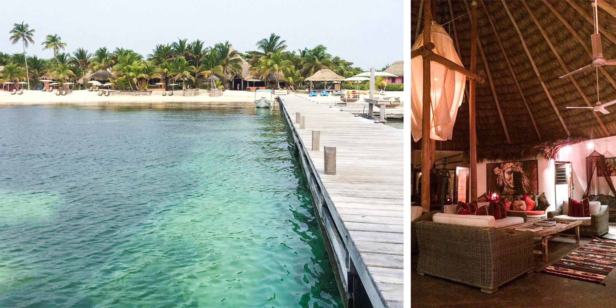 Above: The beautiful Matachica Beach Resort where we stayed.