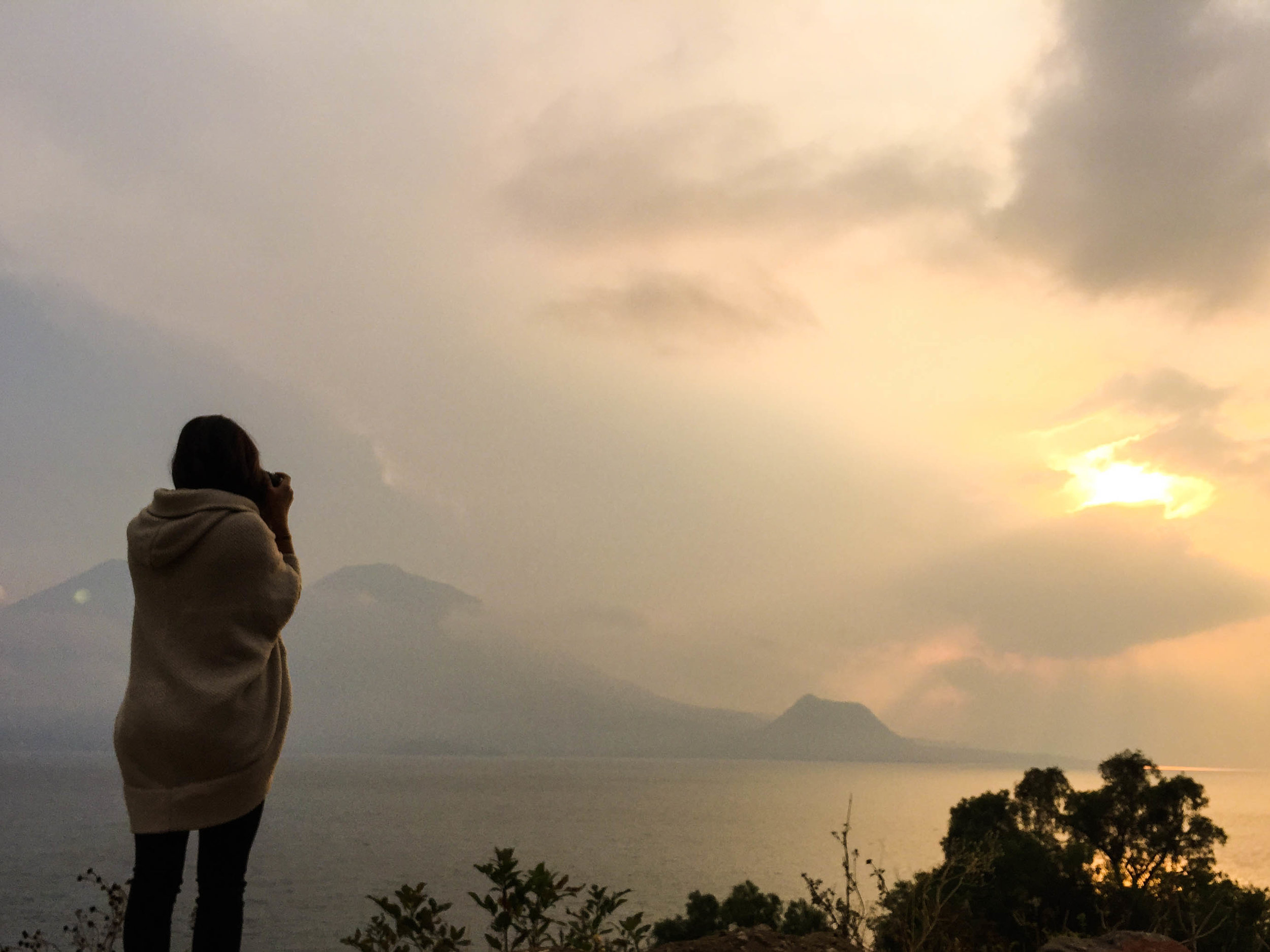 Getting to explore the land which my artisan partners in Lake Atitlan come from.